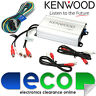 Kenwood 4 Channel 400 Watts Compact Car Van Marine Bike Speaker Amplifier Amp