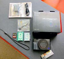 Sony Cyber-shot DSC-RX100 VII M7 - Digital Camera - Black - MINT