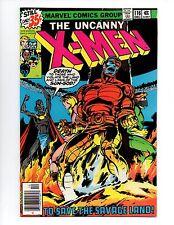 """The X-Men #116 (Dec 1978, Marvel) VF 8.0 """"KA-ZAR APP."""""""