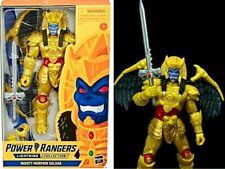 """Mighty Morphin Power Rangers Lightning 6"""" Goldar figure GameStop Exclusive Mmpr"""