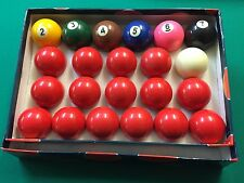 "Specialized SNOOKER BALL SET - 2 1/16"" INCH BALL"