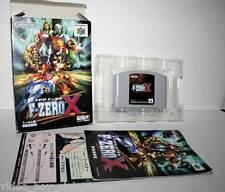 F-ZERO X GIOCO USATO BUONO STATO NINTENDO 64 N64 EDIZIONE GIAPPONESE JAPAN GS1