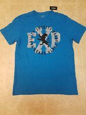 New Express Men Blue T Shirt Tee Sz M MEDIUM
