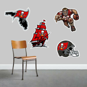 Tampa Bay Buccaneers Wall Art 4 Piece Set Large Size------New in Box------