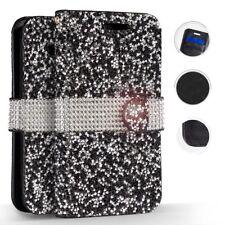Samsung Galaxy S9 / S9 PLUS Premium Bling Diamond Wallet Case Flip Pouch Cover