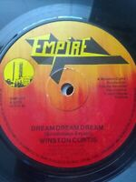 "Winston Curtis-Dream Dream Dream 7"" Vinyl Single 1977 UK REGGAE"