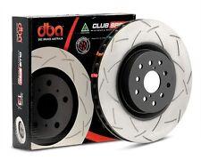 DBA 4000 Series T-Slot Slotted Rotors Front/Rear 2015-2017 WRX