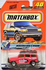 MATCHBOX 2000 SPACE EXPLORER MERCEDES-BENZ G WAGON #40 W+