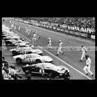#pha.035014 Photo FORD GT40 KEN MILES DAN GURNEY JOHN WHITMORE 24 H LE MANS 1966
