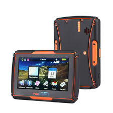 Motorcycle GPS Navigator Navigation Bluetooth 4.3 inch 256MB 8GB IPX7 Free Maps