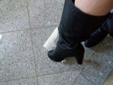 Stiefel schwarz Größe 40 für Schuhsammler und Liebhaber