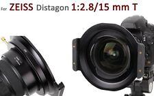 Haida serie 150er SUPPORTO FILTRO per Zeiss Distagon 1:2 mm .8/15 T