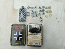 Flames of War German Wermacht Dice Tin with dice and tokens