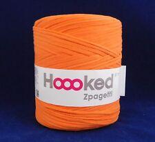 Hoooked Zpagetti Reciclado T-Shirt Hilo De Ganchillo Tejer Naranja