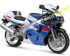 For Suzuki GSXR600/750 SRAD GSX-R600/750 96 97 98 99 Blue White ABS Fairing Kits