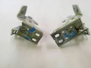 White Front Right Door Upper & Lower Hinges | Fit 02 03 04 05 06 07 08 Dodge Ram
