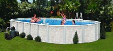"""16' x 32' x 52"""" Above Ground Pool Complete Package > 20 Yr Warranty > Mystique"""