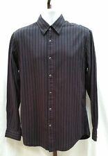 J Ferrar Snap Button Embroidered Long Sleeve Shirt Size M 15-15 1/2 NEW NWT M111