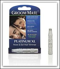 Best Selling Nose Hair Trimmer - Groom Mate Platinum XL - Lifetime Warranty  NIB