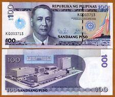 Philippines, 100 Piso, 2013 P-New UNC > Commemorative 100 years Iglesiani Cristo