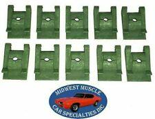 NOS GM Body Fender Dash Factory Correct #8 Screw Bolt U Clip Panel J Nut 10pcs A