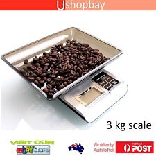 3000g 3Kg x 0.1g Digital Scale Coffee Machine & Electronic Food Kitchen Tool