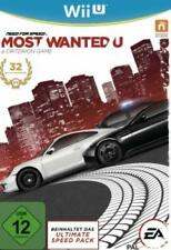 Nintendo Wii U Need for Speed Most Wanted tedesco usato come nuovo