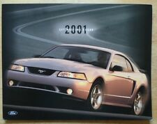FORD Mustang Cobra 2001 coupe Brochure Prospekt Catalogue-SVT