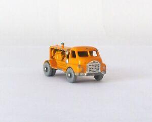 Vintage Lesney Moko Matchbox #28-A Bedford Compressor Truck METAL WHEELS 1956