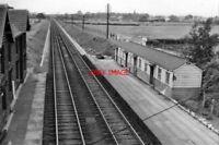 PHOTO  BARTON & BROUGHTON RAILWAY STATION LANCS REMAINS 1962 LNWR WCML LANCASTER