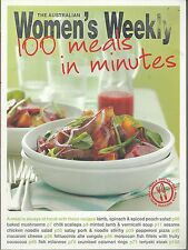 Australian Womens Weekly - 100 Meals in Minutes  Cookbook 2010 PB A4