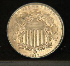 1866 Shield Nickel with Rays  Choice BU  (C1220)