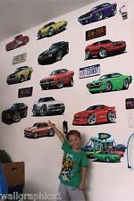 2012 Ford Mustang Boss 302 Laguna Seca Wall Graphic Vinyl Decal Man Cave Boys