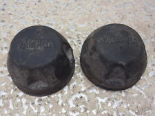 2002 YAMAHA GRIZZLY 600 4X4 AXLE BOLTS CAPS