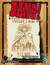 BANG! SCATOLA BASE 4a Edizione Italiano Gioco di Carte da Tavolo Da Vinci