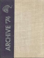 1974 NORWICH HIGH SCHOOL YEARBOOK, ARCHIVE, NORWICH, NEW YORK