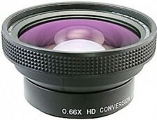 Raynox DCR-6600PRO 52mm 0.66x HD Wide Angle Lens NEW +UV 72mm