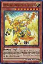 Hieratic Dragon of Sutekh (GAOV-EN025) - Ultra Rare - Near Mint - 1st Edition