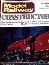Model Railway Constructor November 1977 - Drawing Dorchester Station - Tr.20