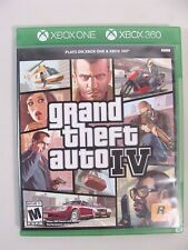 Microsoft Xbox 360 Grand Theft Auto Iv Gta 4