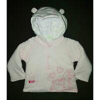 DISNEY BABY manteau blouson bébé WINNIE THE POOH rose taille 1-3 ou 3-6 mois