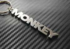MONKEY Cheeky Rascal Keyring Keychain Key Fob Bespoke Stainless Steel Gift