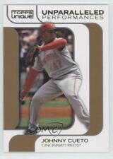2009 Topps Unique Unparalleled Performance Reserve /25 Johnny Cueto #UP20