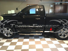 09-2017 Dodge Ram Regular Cab Rocker Panel Trim Body Side Molding 2016 2015 2014