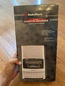 Radio Shack 1401128 Voice Activated Desktop Cassette Recorder CTR-121 New