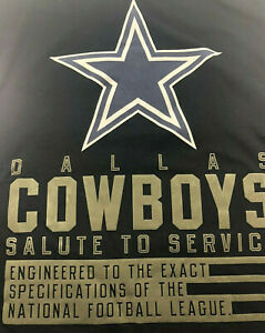 Authentic NIKE Dallas Cowboys Salute to Service / L/S /BLACK / Mens /NWT Reg $45