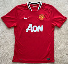 Nike Manchester United Home Soccer Football Jersey 2011 2012 Rooney #10 Mens L