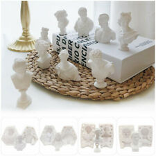 Diy Tool Candle Molds Soap Making Gypsum Portraits Mould Resin Casting Mold