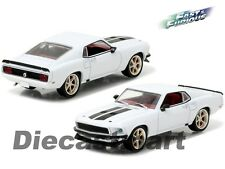 "GREENLIGHT 1:43 86236 1969 FORD MUSTANG ""ANVIL HALO"" FAST AND FURIOUS 6 WHITE"