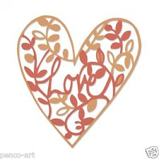 Sizzix Thinlits die set Natural Love heart Use big shot, Express or plus. 661377